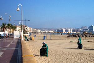 Limpieza Terrestre de Playas