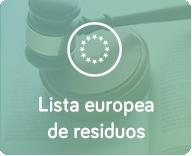 lista europea de residuos