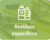 residuos especificos
