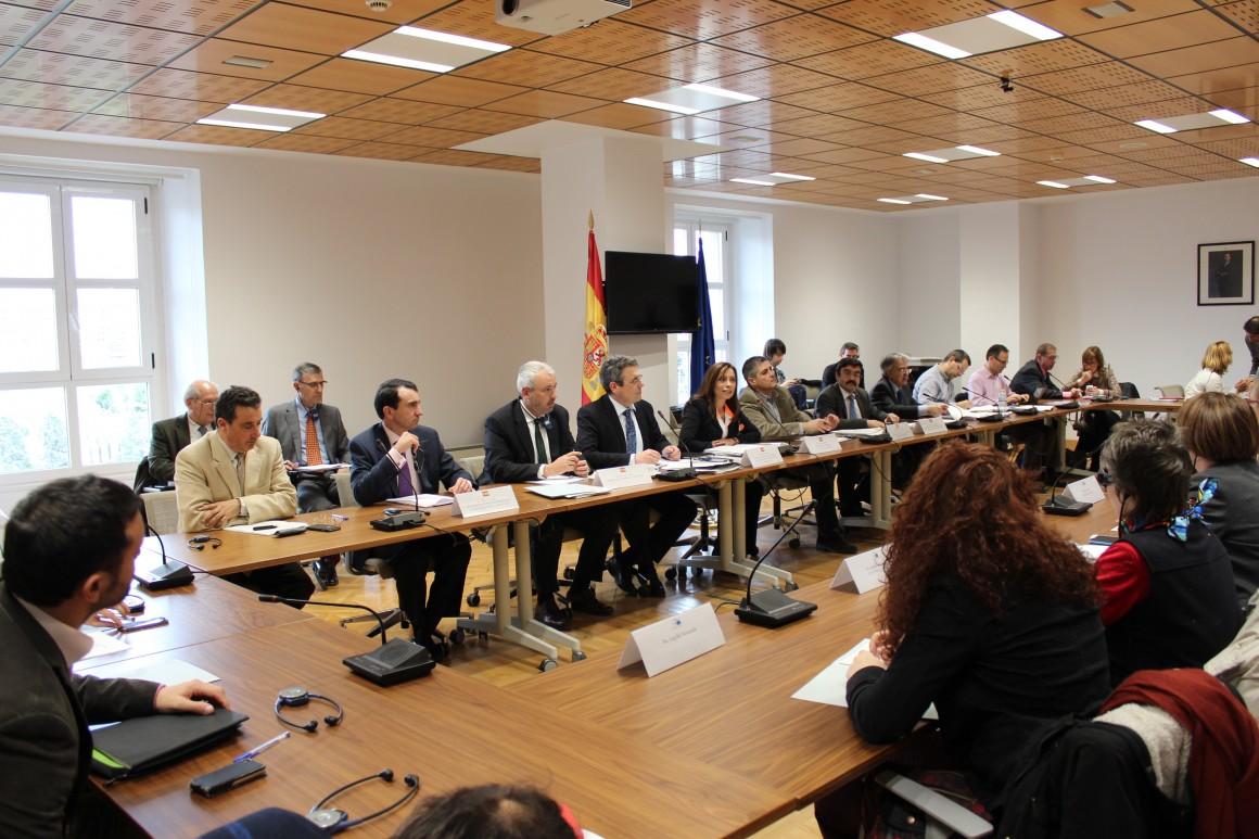 El Ministerio de Agricultura, Alimentación y Medio Ambiente informa sobre la planificación hidrológica española a una delegación del Comité de Peticiones del Parlamento Europeo