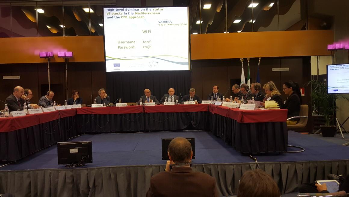 La Secretaría General de Pesca participa en el Seminario de Alto nivel sobre la situación de los stocks en el Mediterráneo