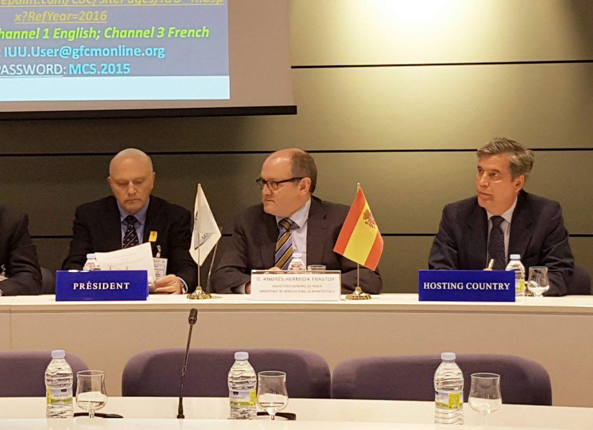 Andrés Hermida: la actuación decidida de España contra la pesca ilegal nos convierte en referente mundial