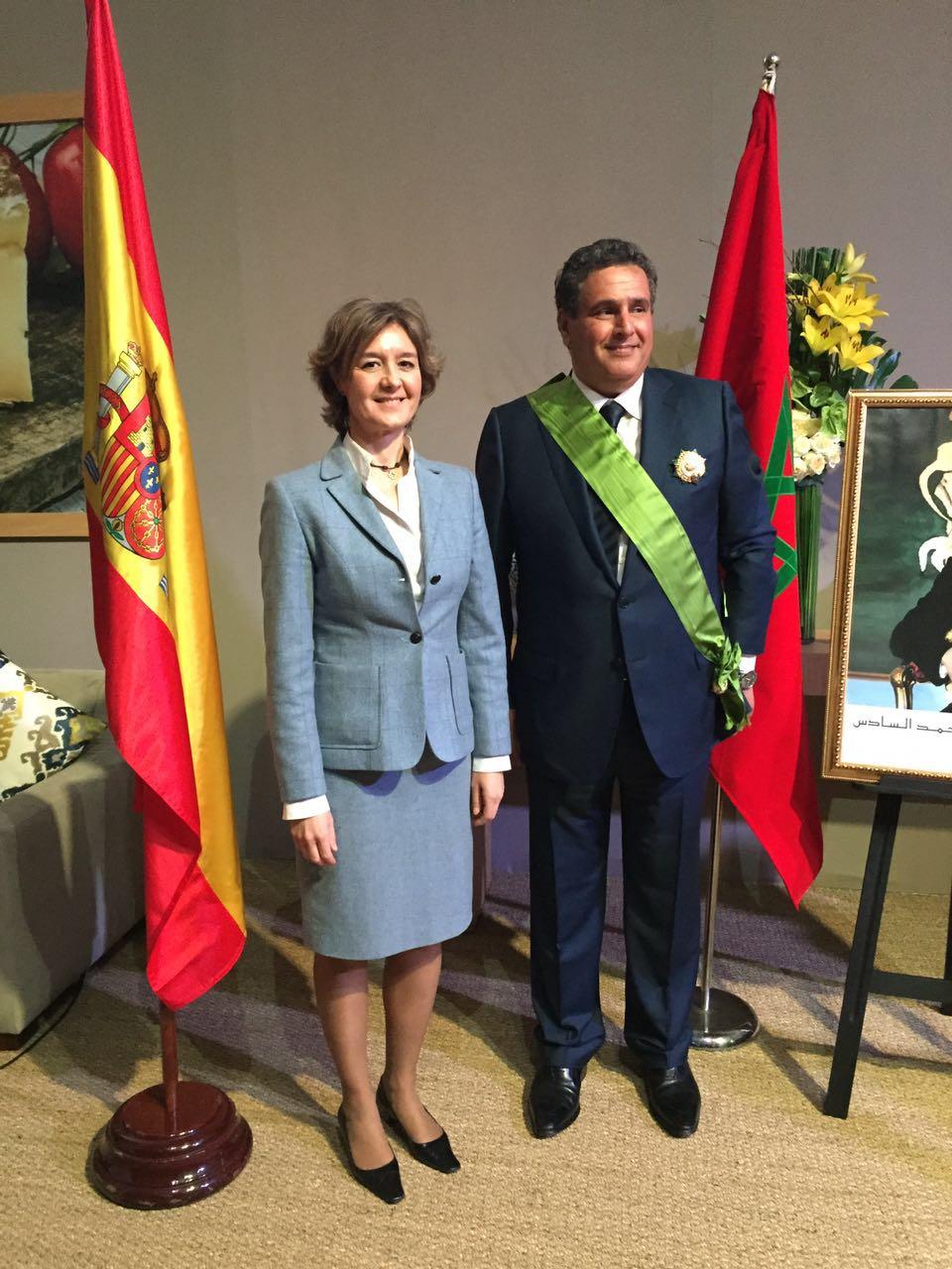 García Tejerina subraya el indudable compromiso del ministro Aziz Akhannouch para consolidar las relaciones de amistad entre España y Marruecos