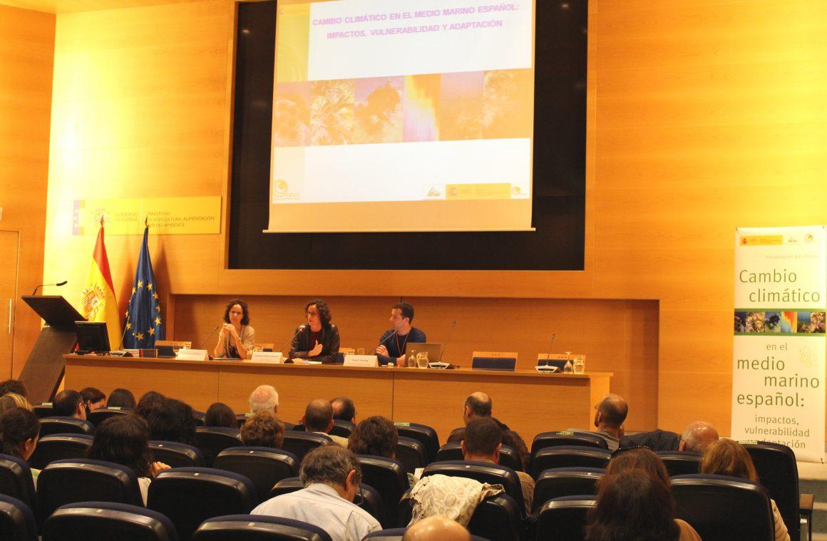 El Ministerio de Agricultura, Alimentación y Medio Ambiente presenta el primer informe sobre la incidencia del cambio climático en el medio marino español