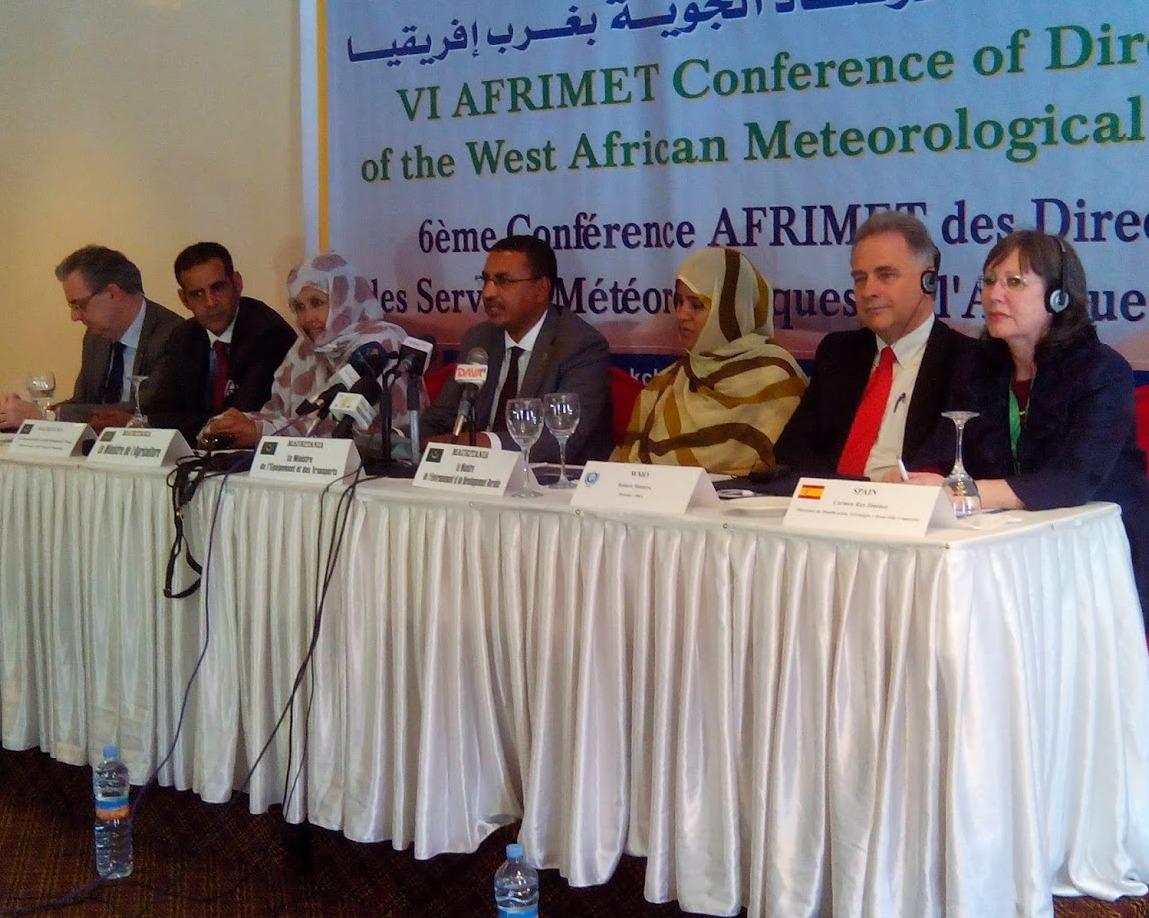 AEMET impulsa la cooperación con los Servicios Meteorológicos e Hidrológicos de África del Oeste (AFRIMET)