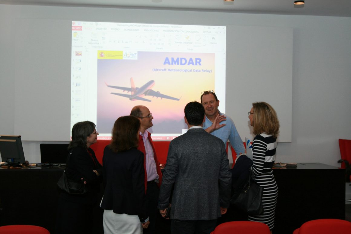 AEMET promueve la recogida de datos meteorológicos a través de aviones comerciales en vuelo a tiempo real