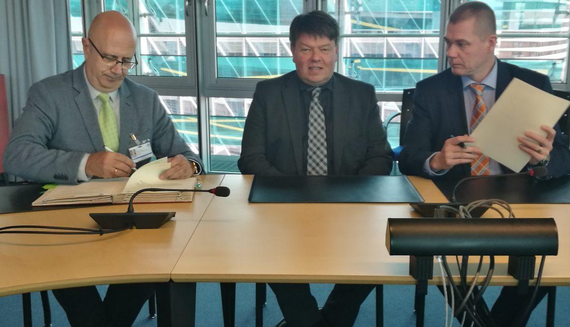 AEMET firma un acuerdo de colaboración con el Servicio Meteorológico de Finlandia (FMI) para promover proyectos de cooperación