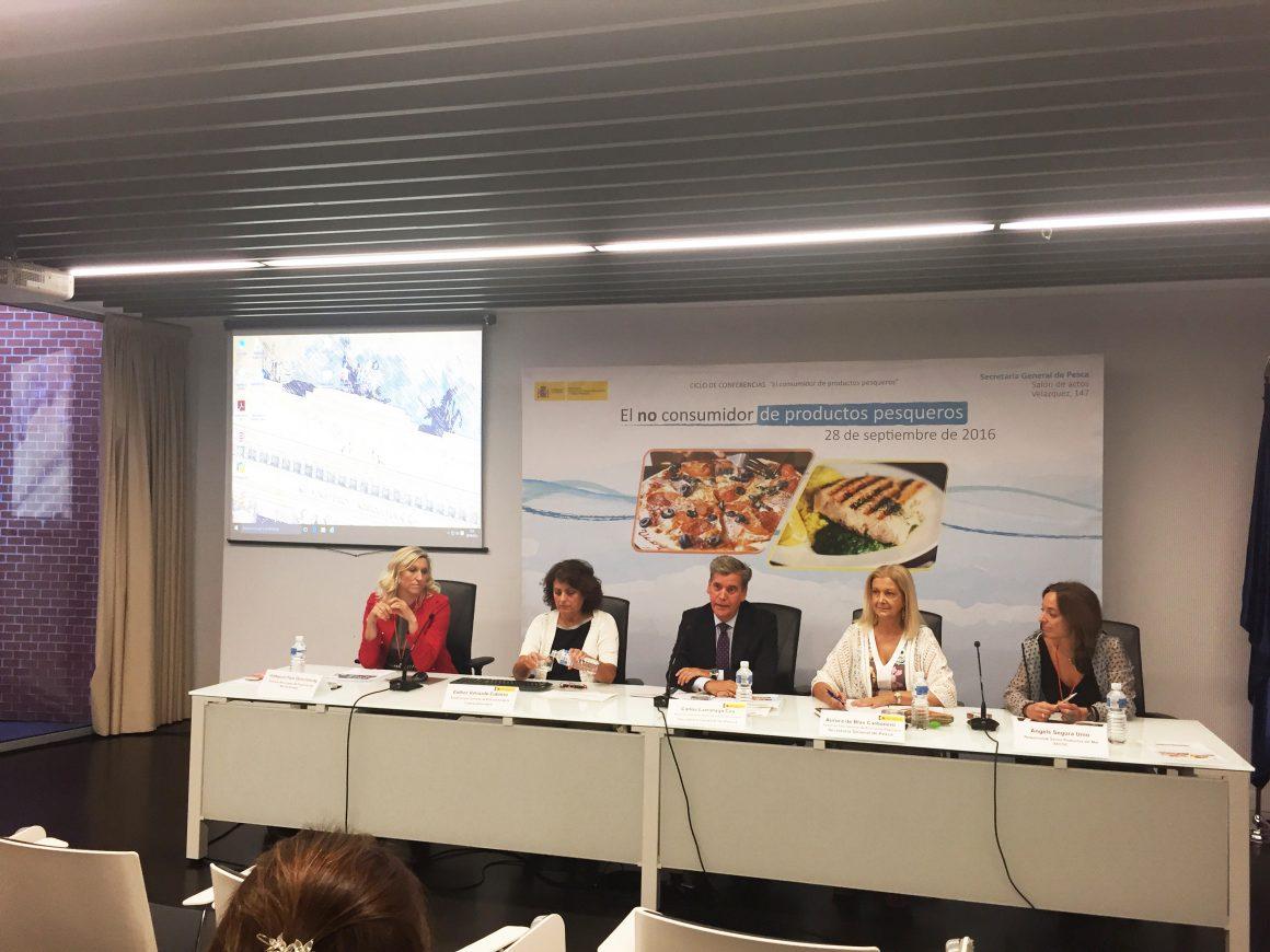 Carlos Larrañaga valora las aportaciones que brindan los debates y estudios sobre el consumidor pesquero para la promoción de los productos de la pesca y la acuicultura