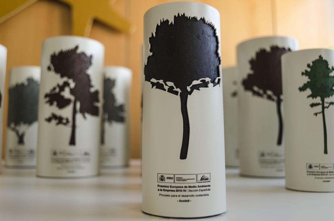 El Ministerio de Agricultura, Alimentación y Medio Ambiente premia a 12 empresas españolas por su compromiso con el desarrollo sostenible y su comportamiento ambiental