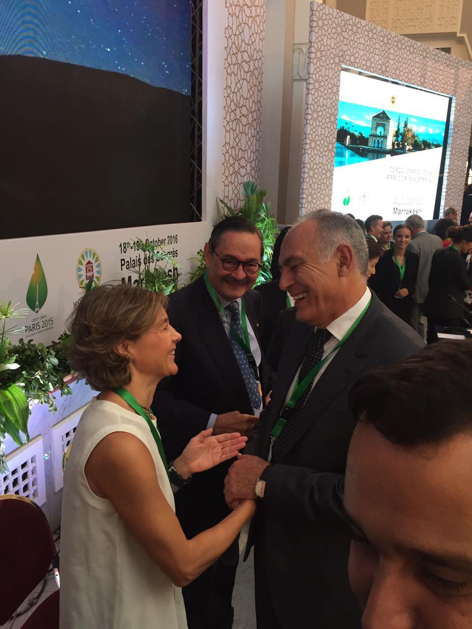 España participa activamente en la conferencia ministerial preparatoria de la Cumbre del Clima de Marrakech (Marruecos)