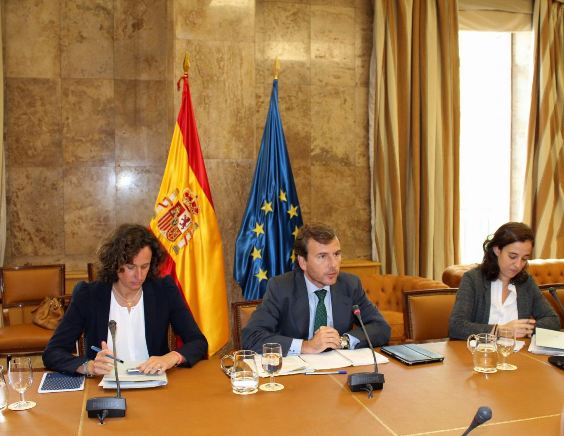 Pablo Saavedra detalla los objetivos del Gobierno de España en la próxima Cumbre del Clima de Naciones Unidas que se celebra en Marrakech (Marruecos)