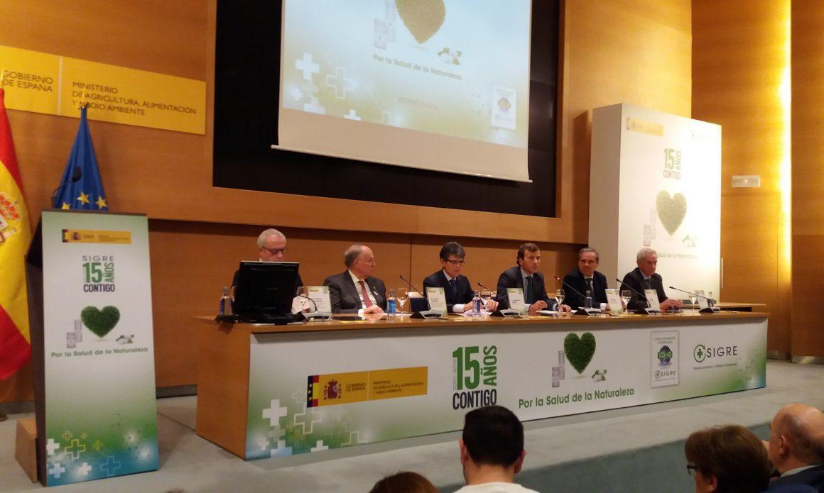 Pablo Saavedra destaca la importancia de avanzar en la cultura del consumo sostenible y medioambientalmente responsable en el XV aniversario de SIGRE