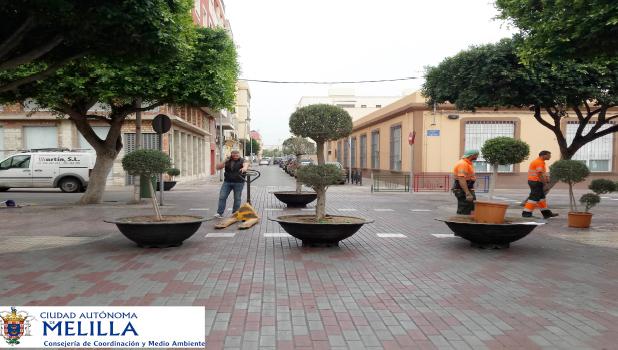 Nuevas actuaciones en la Calle La Legión para reducir el tráfico en el entorno de los centros escolares