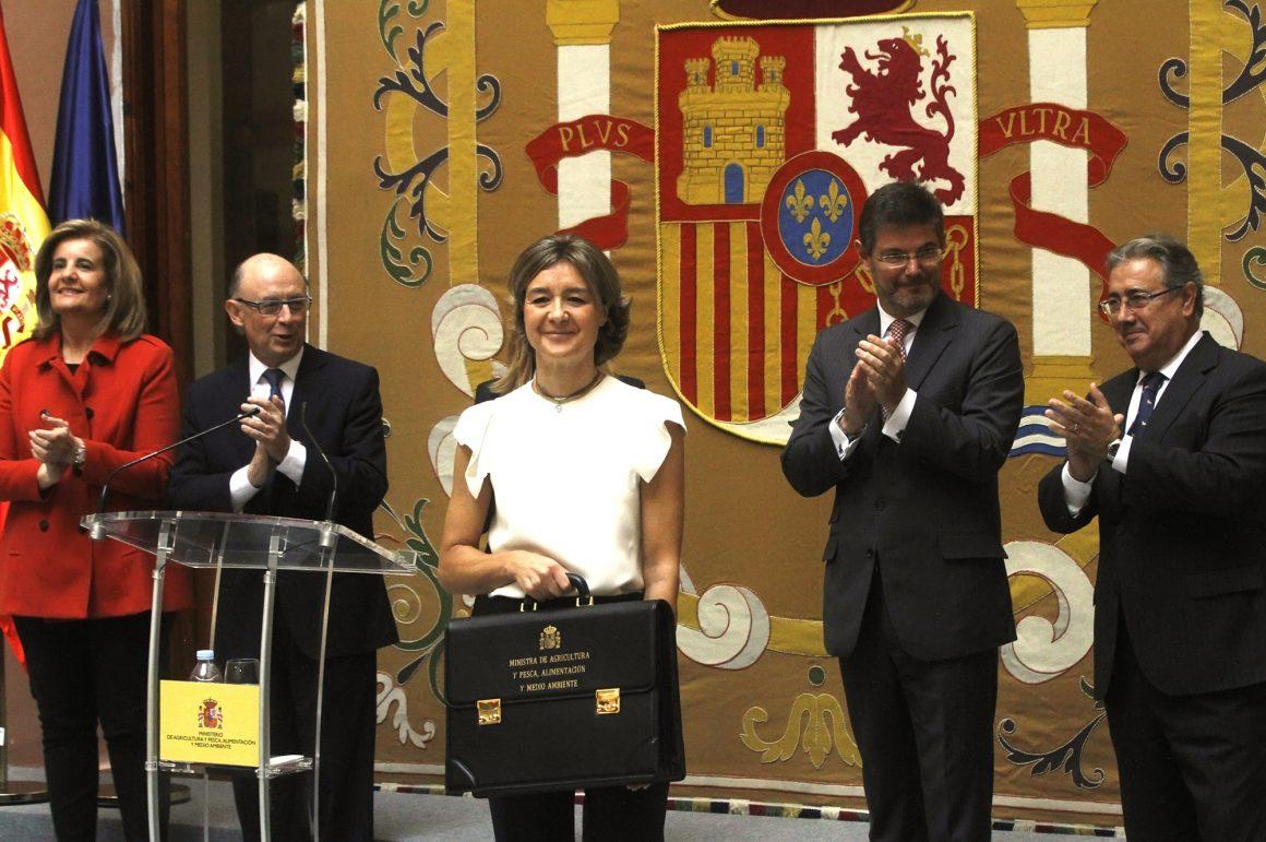 """Isabel García Tejerina: """"Trabajaré para estar a la altura de las ambiciones que este Gobierno tiene para España"""""""