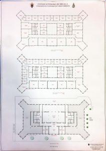 Anteproyecto edificio Correos Melilla