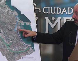 Quevedo anuncia que en marzo comenzará la obra de transformación de la antigua estación de bombeo