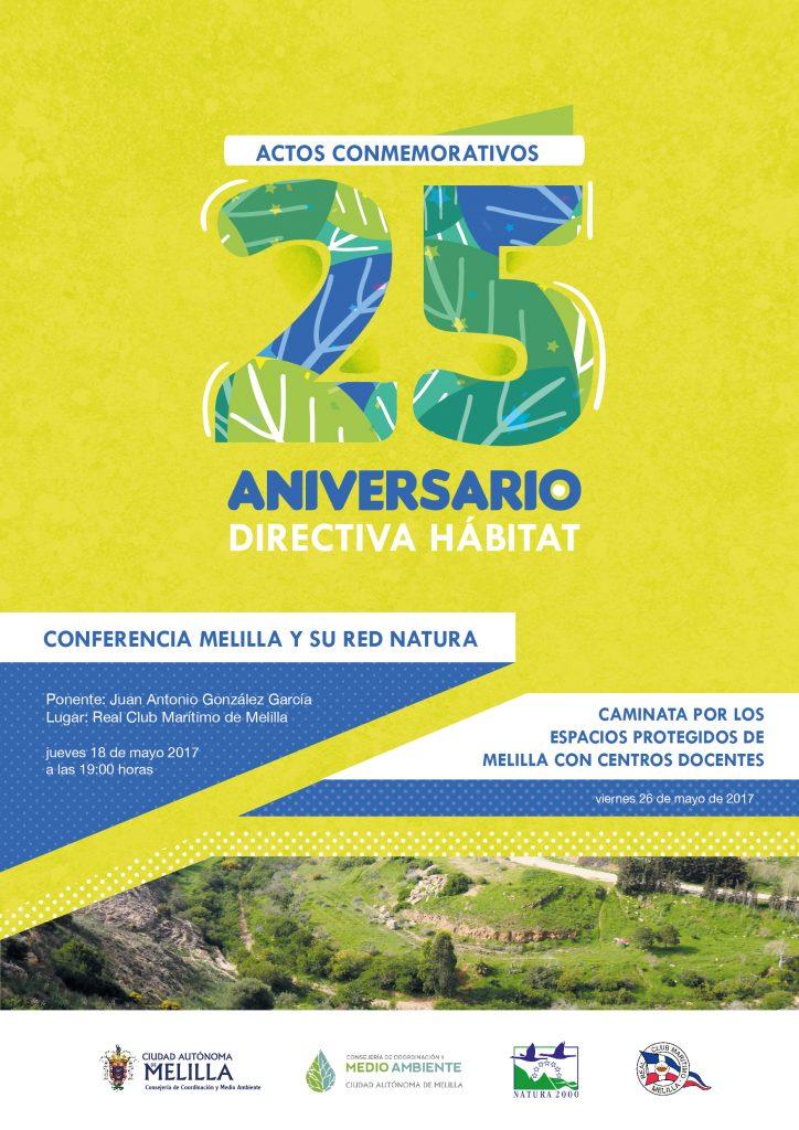 CARTEL 25 ANIVERSARIO DIRECTIVA HABITAT_