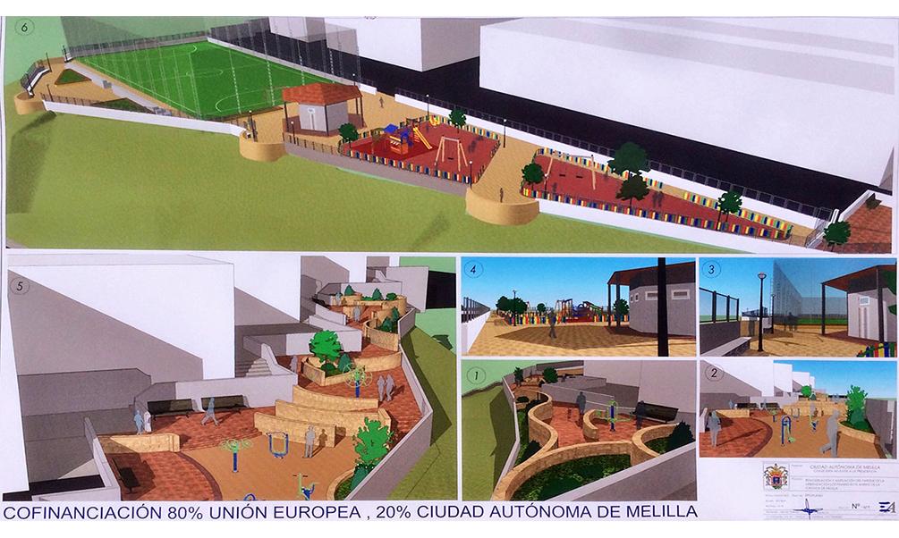 Medio Ambiente inicia la remodelación del parque de Los Pinares