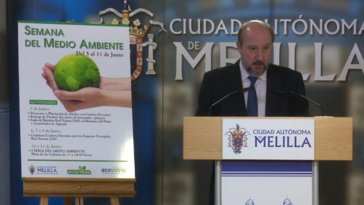 Quevedo presenta el programa del Día Mundial del Medio Ambiente