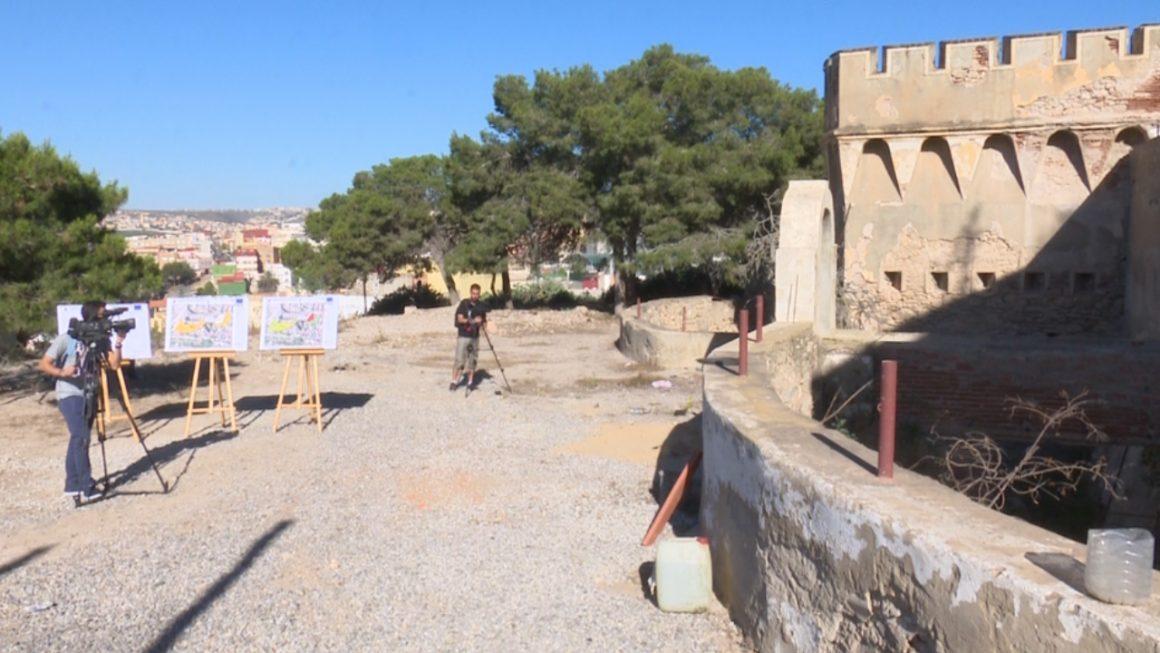 Comienzan los trabajos para el futuro parque del Fuerte de María Cristina
