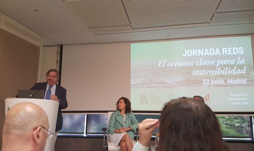 """Alberto López-Asenjo inaugura la Jornada """"El océano clave para la sostenibilidad"""""""