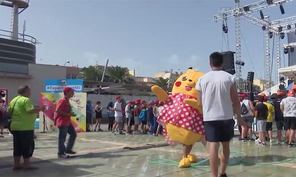 Medio Ambiente diseña un dispositivo especial de limpieza para la Feria