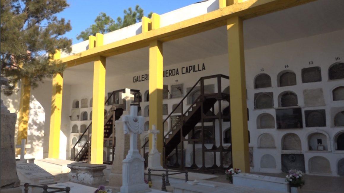 El lunes comienza la reparación del cementerio tras el terremoto de 2016