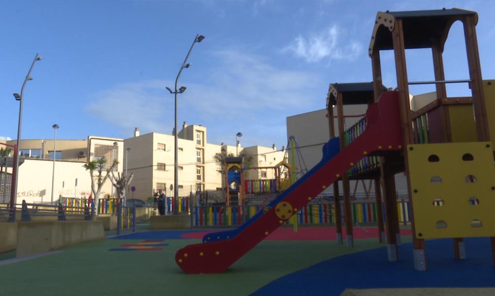 Cabrerizas ya disfruta de una nueva plaza con seis zonas de esparcimiento