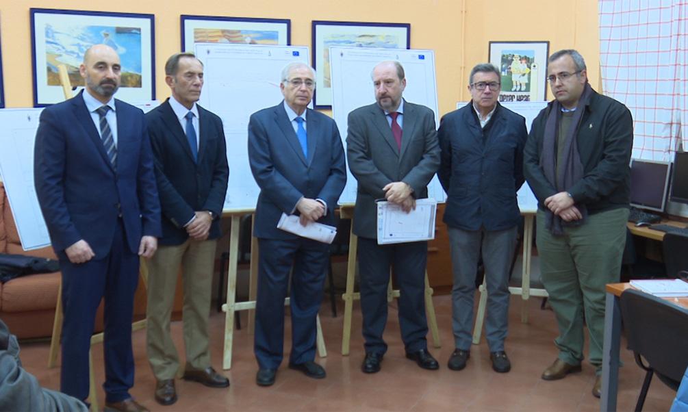 Presentan los caminos escolares de los centros Reyes Católicos y La Salle