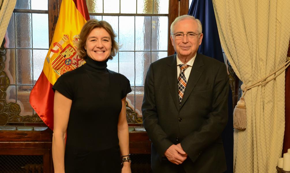 Isabel García Tejerina se reúne con el Presidente de la Ciudad Autónoma de Melilla