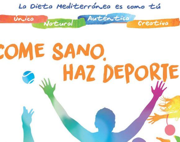 """La Dieta Mediterránea llega al Campeonato de España de tenis de mesa en edad escolar a través de la campaña """"mediterraneamos"""""""