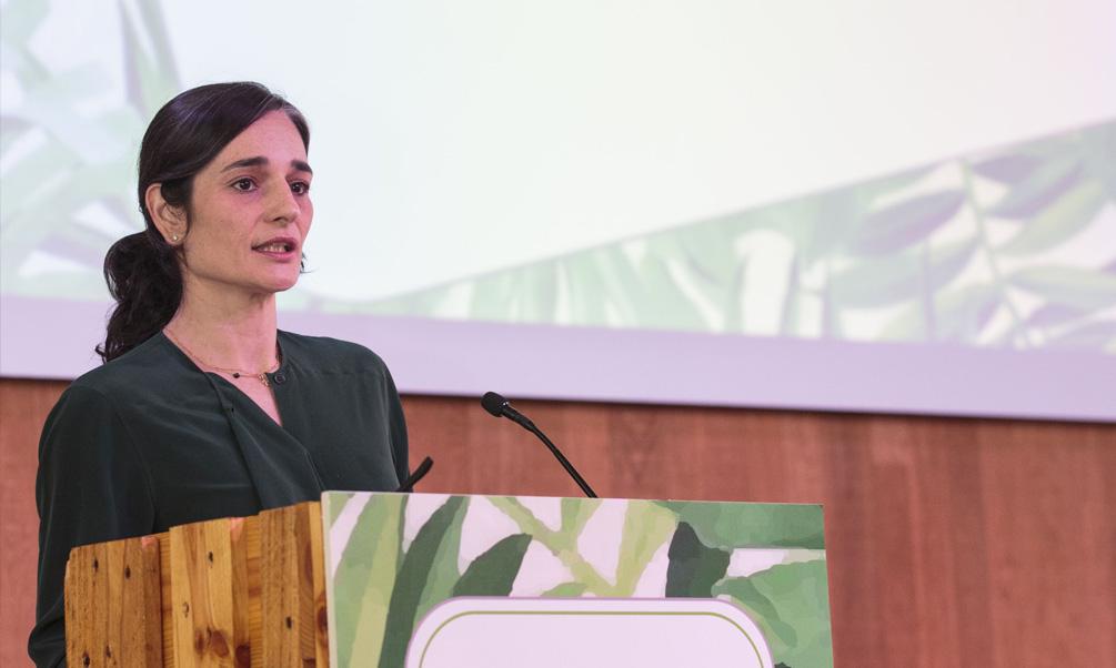 """María García Rodríguez: """"Proteger nuestra naturaleza, producir más con menos recursos, luchar contra el cambio climático y avanzar hacia una economía circular es una tarea de todos""""."""