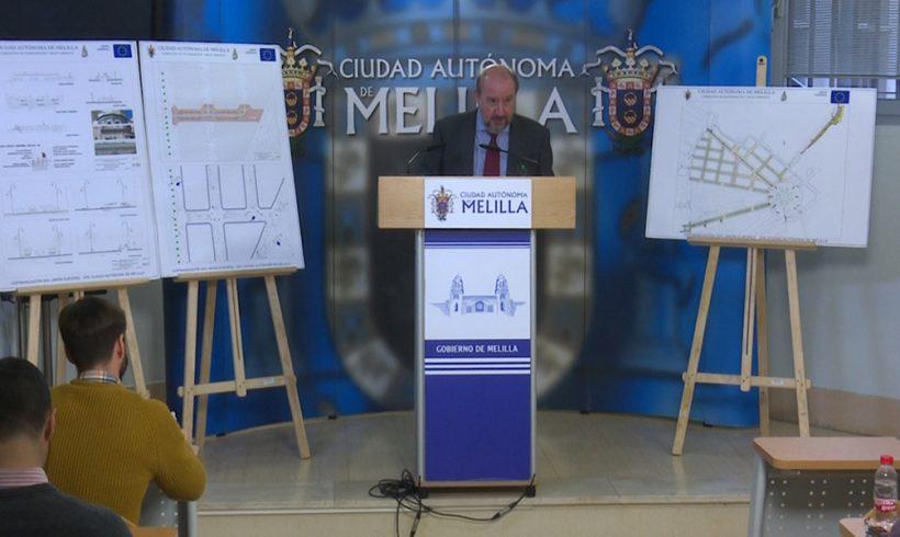 La Ciudad invierte 574.000 euros en la reordenación de la calle Chacel. - alt