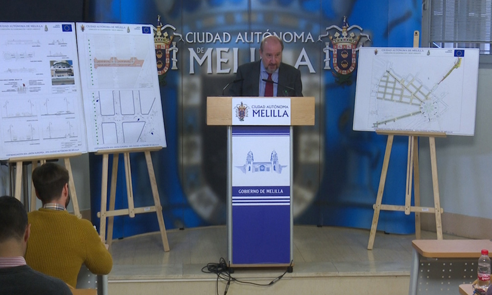 La Ciudad invierte 574.000 euros en la reordenación de la calle Chacel.
