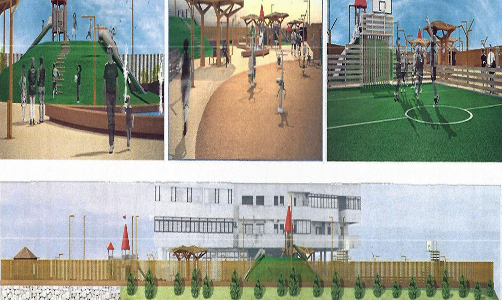 Nuevo parque en Ronda Compañía de Mar con una inversión de 576.000 euros