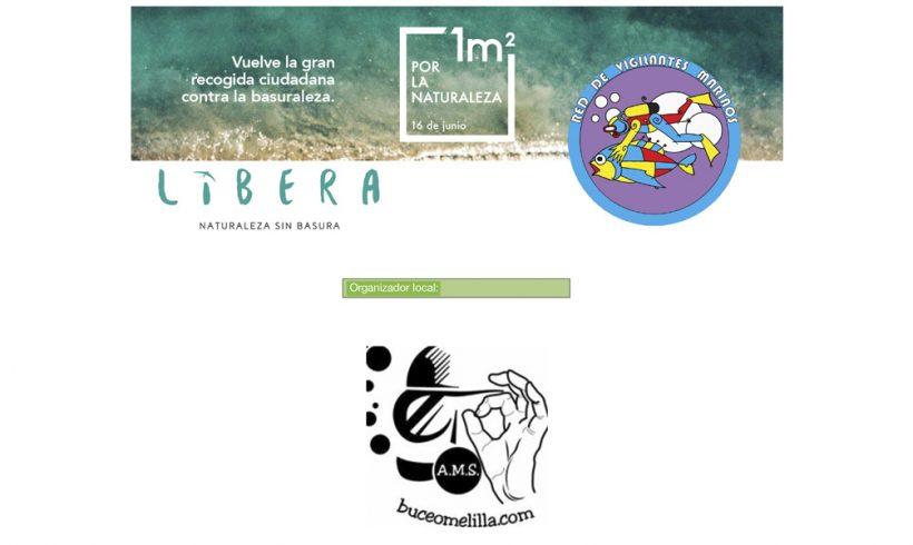 La Consejería de Coordinación y Medio Ambiente colabora con la Asociación Melillense de Submarinismo en la recogida de basura dentro del PROYECTO LIBERA. - alt