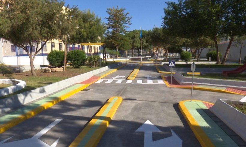 La Ciudad inaugura el rehabilitado Parque Vial 'Manuel Ojeda'