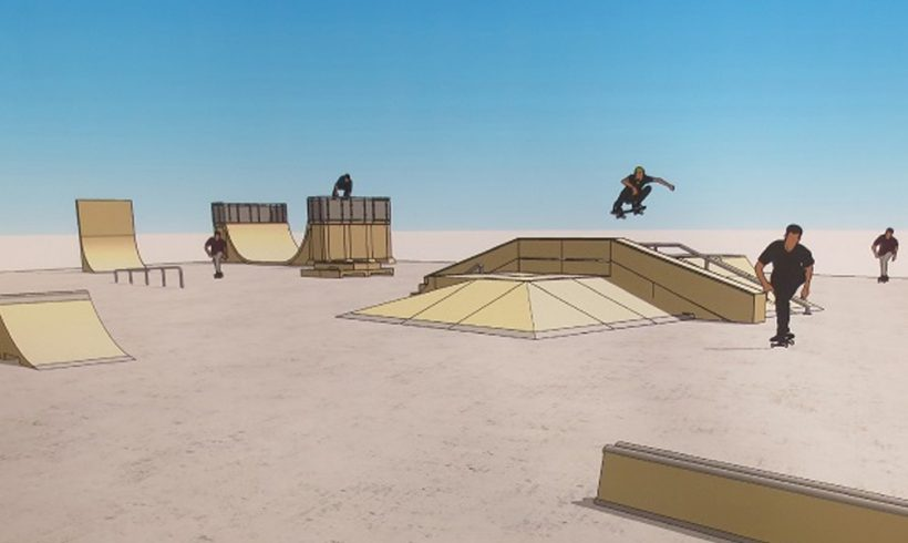 Medio Ambiente destina 151.343 euros al nuevo skate park de la Plaza de San Lorenzo y 54.450 a un parque de fitness - alt