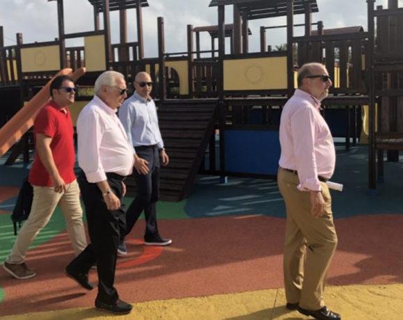 La Ciudad invierte 93.000 euros en la renovación de las tres zonas infantiles del parque forestal Juan Carlos I