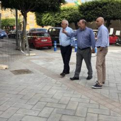 Quevedo recuerda que el mobiliario definitivo de Marqués de Montemar se instalará en noviembre