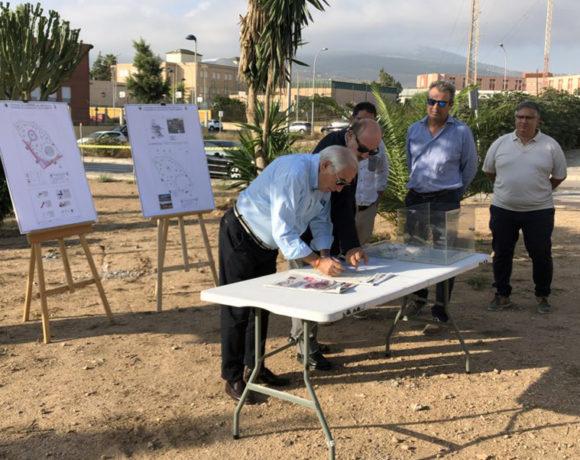Los vecinos de la Plaza Pedro Aguilar contarán con un nuevo parque infantil dentro de cuatro meses