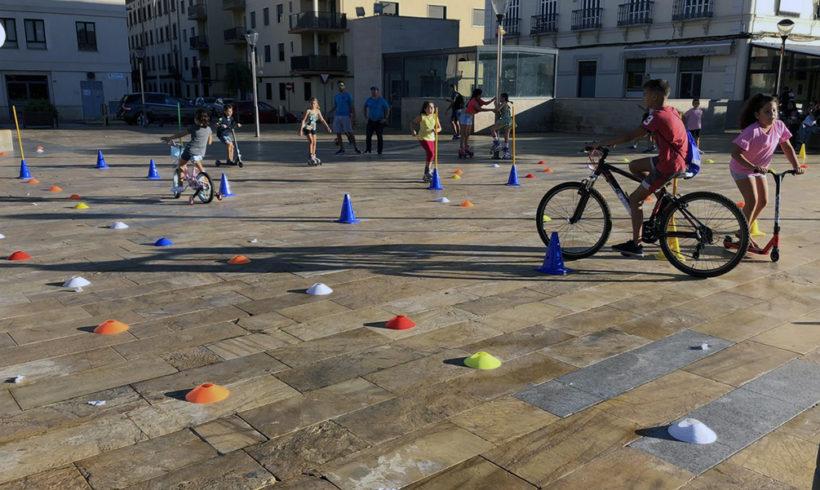 La Plaza de las Culturas acoge las actividades centrales de la Semana Europea de la Movilidad