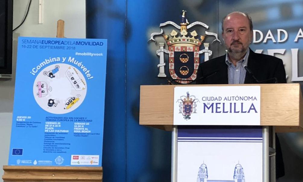 Melilla se suma a la Semana Europea de la Movilidad