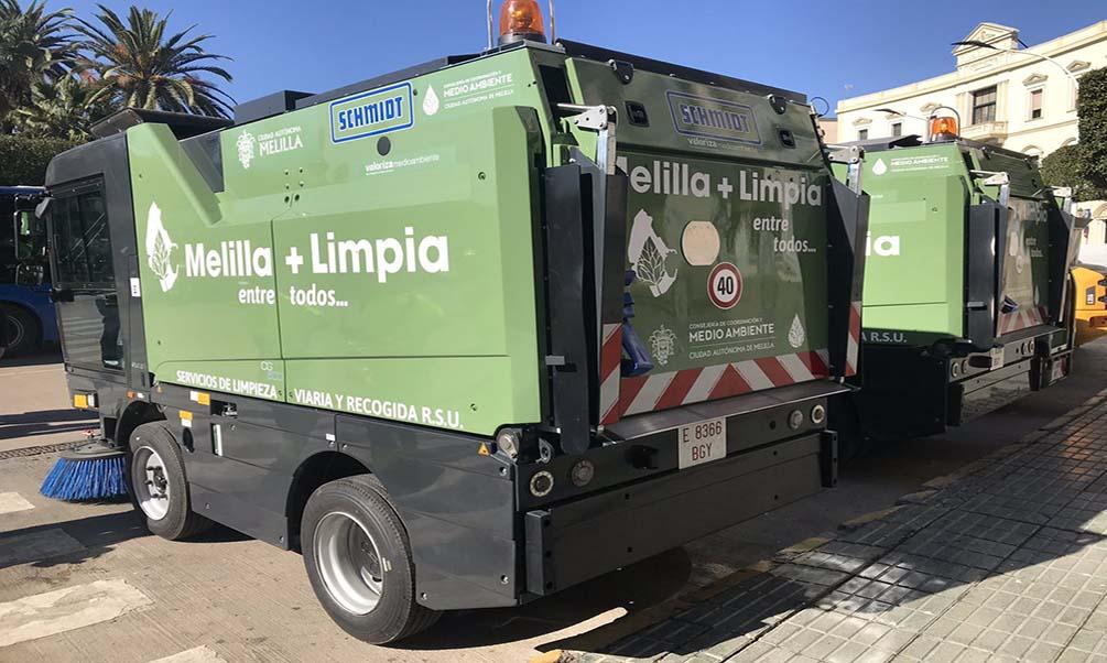 Presentados los nuevos vehículos del servicio de limpieza y recogida de residuos
