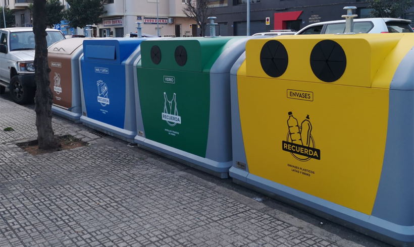 El destino de los residuos del contenedor amarillo, así como del azul, verde y naranja, es el reciclaje