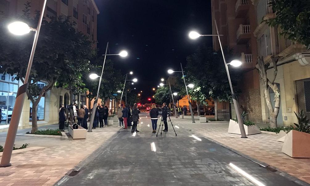 La plaza peatonal de Conde de Alcaudete ya es una realidad