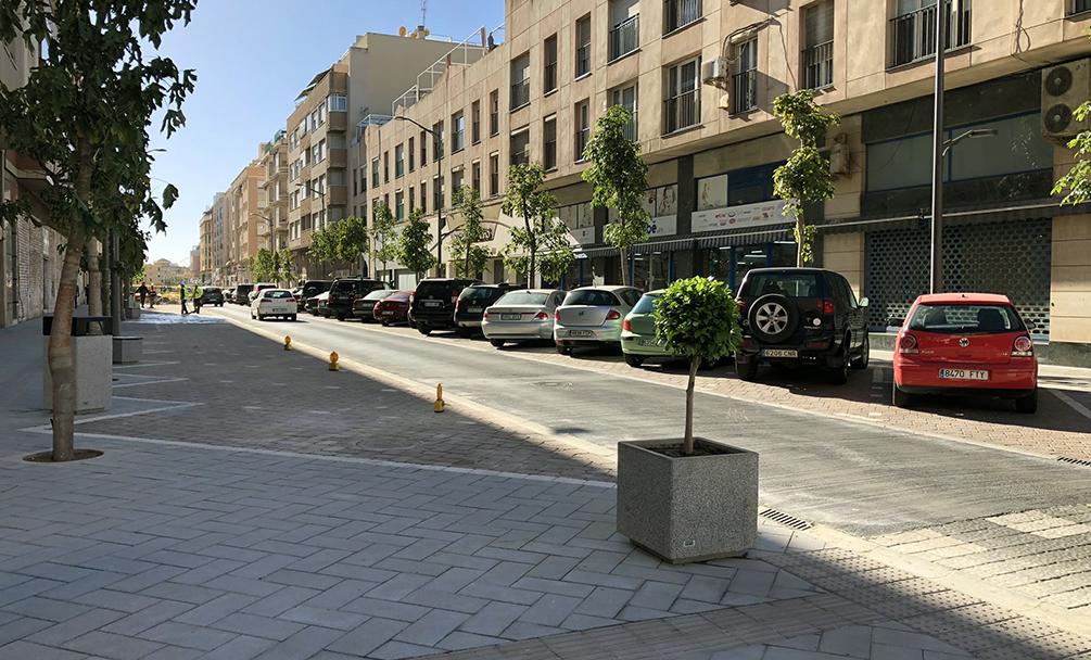 Abierto al tráfico un nuevo tramo de la Calle Marqués de Montemar