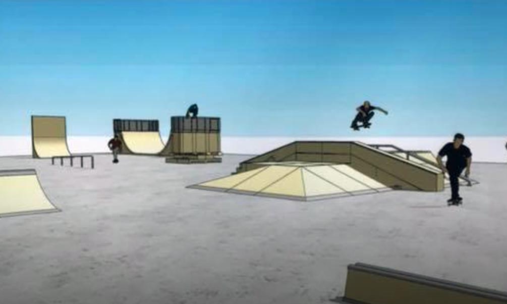 El nuevo skate park de San Lorenzo estará disponible antes de final de año