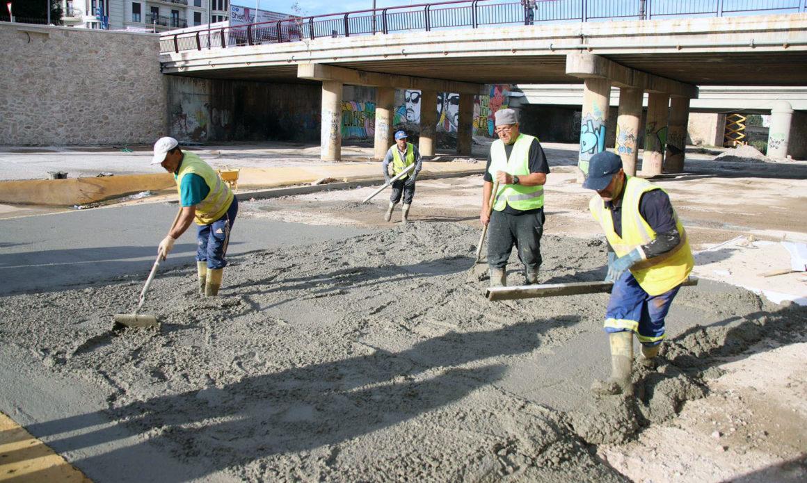 Las obras de adecuación de la desembocadura del Río de Oro finalizarán en marzo
