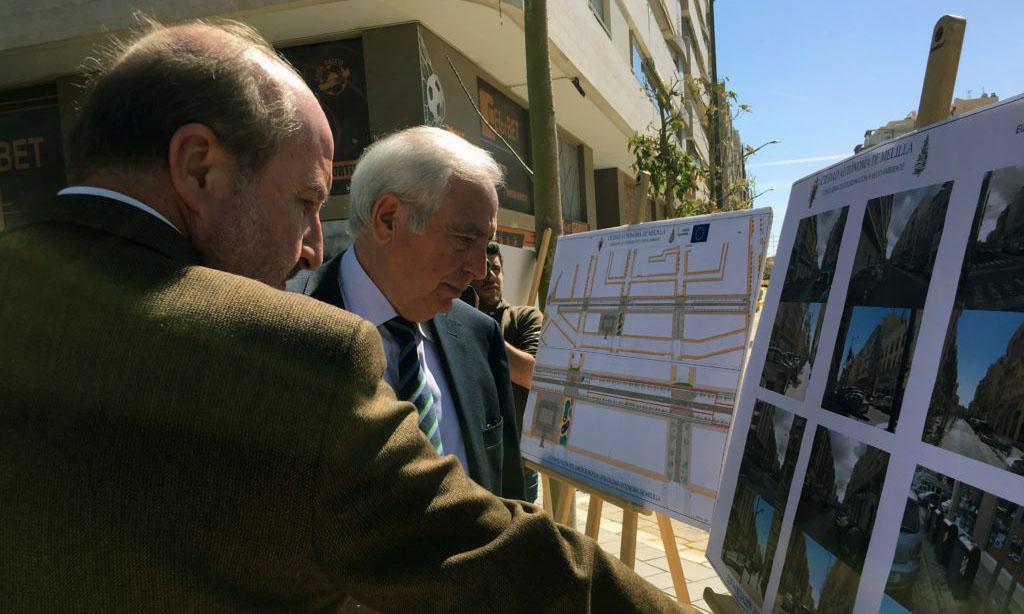 La reordenación de la Calle Marqués de Montemar finalizará el 19 de marzo